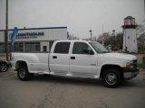 2002 Summit White Chevrolet Silverado 3500 LT Crew Cab 4x4 Dually #27626543