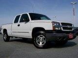 2003 Summit White Chevrolet Silverado 1500 LS Extended Cab 4x4 #27650036