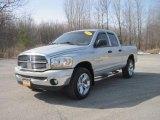 2006 Bright Silver Metallic Dodge Ram 1500 SLT Quad Cab 4x4 #27723577