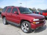 2004 Sport Red Metallic Chevrolet Tahoe Z71 4x4 #27692289