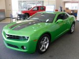 2010 Synergy Green Metallic Chevrolet Camaro LT Coupe Synergy Special Edition #27726463