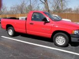 2005 Flame Red Dodge Ram 1500 ST Regular Cab #27726977