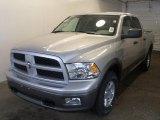 2010 Bright Silver Metallic Dodge Ram 1500 TRX4 Crew Cab 4x4 #27659266