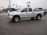 2005 Bright Silver Metallic Dodge Ram 1500 SLT Quad Cab 4x4 #27728759