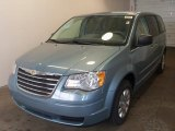 2010 Clearwater Blue Pearl Chrysler Town & Country LX #27659311