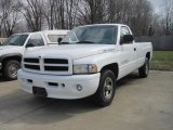 1999 Bright White Dodge Ram 1500 Sport Regular Cab #27771417
