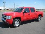 2010 Victory Red Chevrolet Silverado 1500 LT Crew Cab 4x4 #27771303