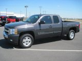 2010 Taupe Gray Metallic Chevrolet Silverado 1500 LT Extended Cab 4x4 #27771304