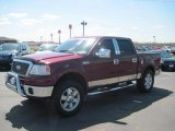 2006 Dark Toreador Red Metallic Ford F150 Lariat SuperCrew 4x4 #27771307