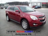 2010 Cardinal Red Metallic Chevrolet Equinox LT #27771330