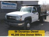 2006 Summit White Chevrolet Silverado 3500 Regular Cab 4x4 Chassis #27771094