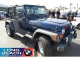 2006 Midnight Blue Pearl Jeep Wrangler Unlimited 4x4 #27771112