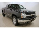 2005 Dark Gray Metallic Chevrolet Silverado 1500 LS Extended Cab 4x4 #27771390