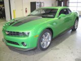 2010 Synergy Green Metallic Chevrolet Camaro LT Coupe Synergy Special Edition #27805080