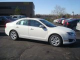 2010 White Suede Ford Fusion SE #27804728