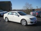 2010 White Suede Ford Fusion SE #27804730