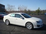 2010 White Suede Ford Fusion SE V6 #27804731
