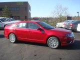 2010 Sangria Red Metallic Ford Fusion SEL V6 AWD #27804733