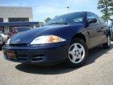 2002 Indigo Blue Metallic Chevrolet Cavalier Coupe #27804613