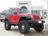 2010 Flame Red Jeep Wrangler Sport 4x4 #27804982