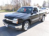 2003 Black Chevrolet Silverado 1500 LS Regular Cab #27805135