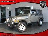2006 Light Khaki Metallic Jeep Wrangler Unlimited 4x4 #27804628