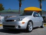 2003 CD Silver Metallic Ford Focus SVT Hatchback #27805005
