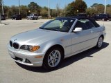2004 Silver Grey Metallic BMW 3 Series 325i Convertible #27805159
