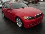 2007 Crimson Red BMW 3 Series 335i Sedan #27805064