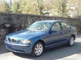 2002 Topaz Blue Metallic BMW 3 Series 325i Sedan #27804692