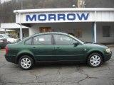 2000 Volkswagen Passat Bright Green Metallic