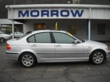 2005 Titanium Silver Metallic BMW 3 Series 325i Sedan #27804699