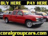 2006 Victory Red Chevrolet Silverado 1500 LS Extended Cab #27805208