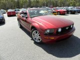 2006 Redfire Metallic Ford Mustang GT Premium Convertible #27850694