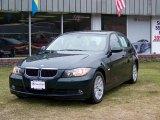 2007 Deep Green Metallic BMW 3 Series 328xi Sedan #27850909