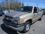 2004 Sandstone Metallic Chevrolet Silverado 1500 Z71 Extended Cab 4x4 #27850914