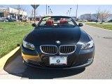 2008 Jet Black BMW 3 Series 335i Convertible #27850269