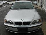 2004 Titanium Silver Metallic BMW 3 Series 325xi Sedan #27850568