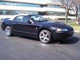1999 Black Ford Mustang V6 Convertible #27850707