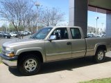 2002 Light Pewter Metallic Chevrolet Silverado 1500 LS Extended Cab 4x4 #27850930