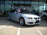 2007 Titanium Silver Metallic BMW 3 Series 328xi Coupe #27850581
