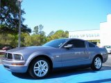 2007 Tungsten Grey Metallic Ford Mustang V6 Premium Coupe #27850481