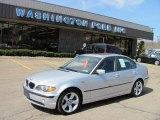 2003 Titanium Silver Metallic BMW 3 Series 325i Sedan #27850784