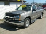 2003 Light Pewter Metallic Chevrolet Silverado 1500 LS Regular Cab #27850619