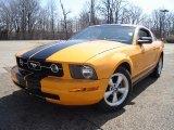 2007 Grabber Orange Ford Mustang V6 Premium Coupe #27850492