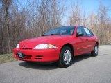 2002 Bright Red Chevrolet Cavalier Sedan #27850975
