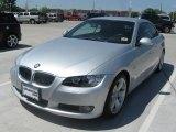 2008 Titanium Silver Metallic BMW 3 Series 335i Convertible #27850861