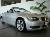 2007 Titanium Silver Metallic BMW 3 Series 328i Convertible #27850349