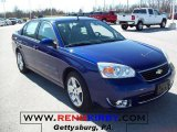 2007 Laser Blue Metallic Chevrolet Malibu LTZ Sedan #27850877