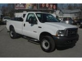 2004 Oxford White Ford F250 Super Duty XL Regular Cab 4x4 #27851008